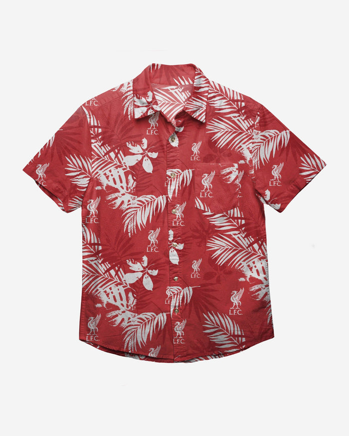 Liverpool FC Mens Floral Button Up Shirt FOCO - FOCO.com | UK & IRE