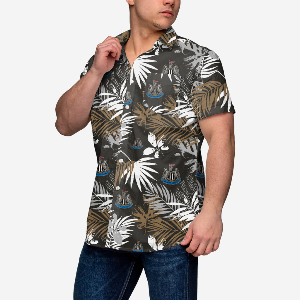 Newcastle United FC Mens Floral Button Up Shirt FOCO - FOCO.com | UK & IRE