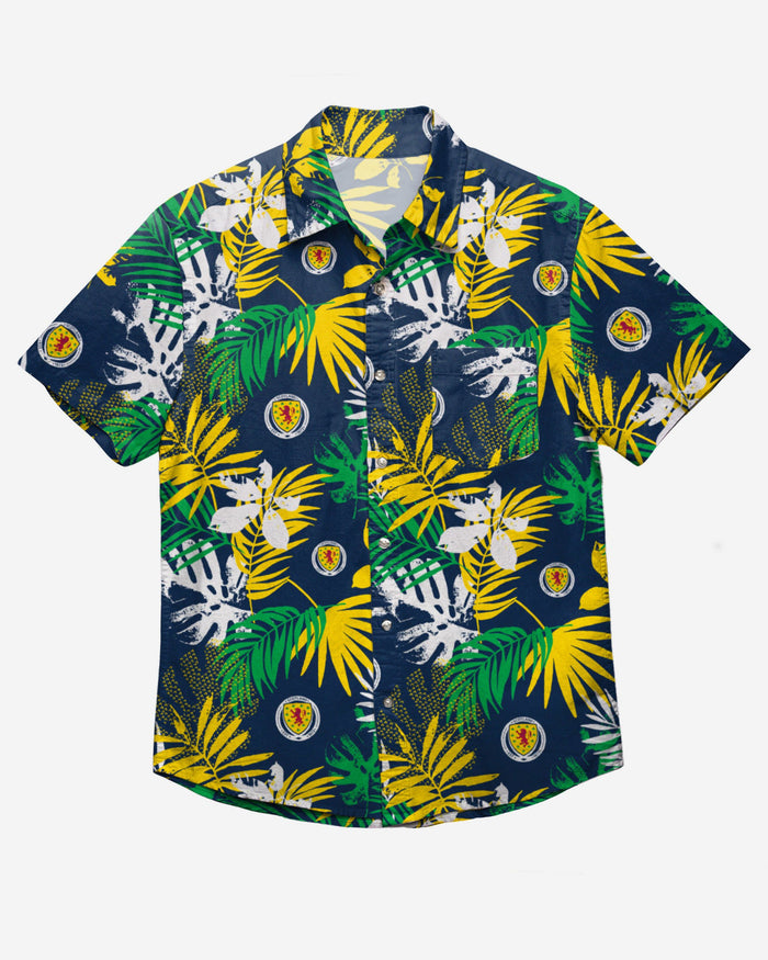Scotland Floral Button Up Shirt FOCO - FOCO.com | UK & IRE