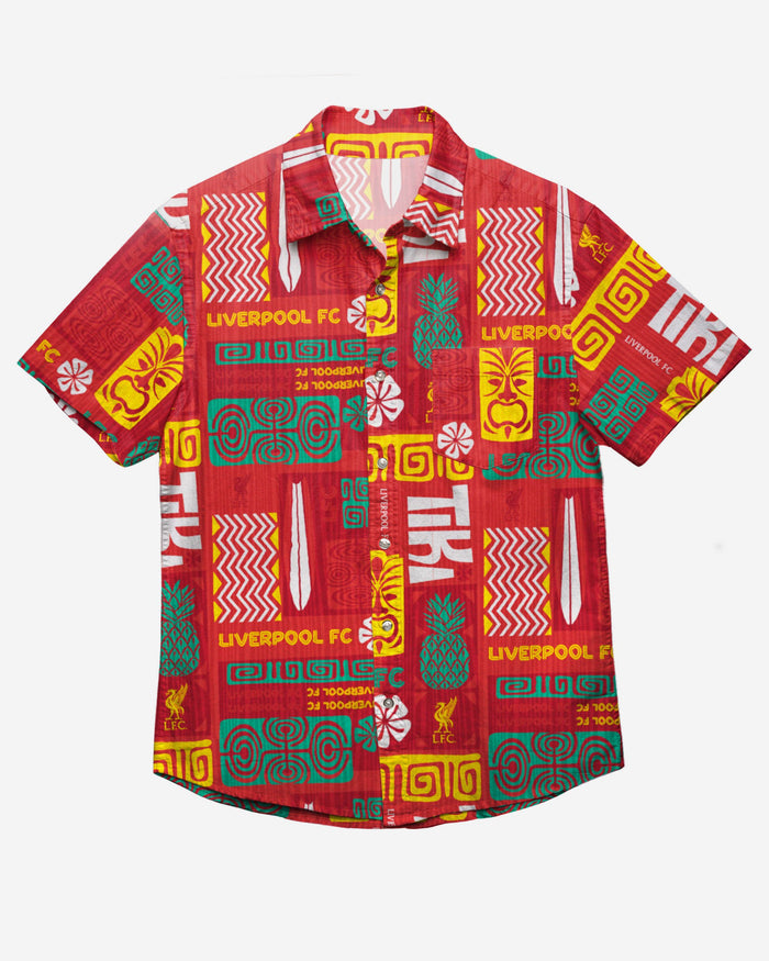 Liverpool FC Tiki Button Up Shirt FOCO - FOCO.com | UK & IRE