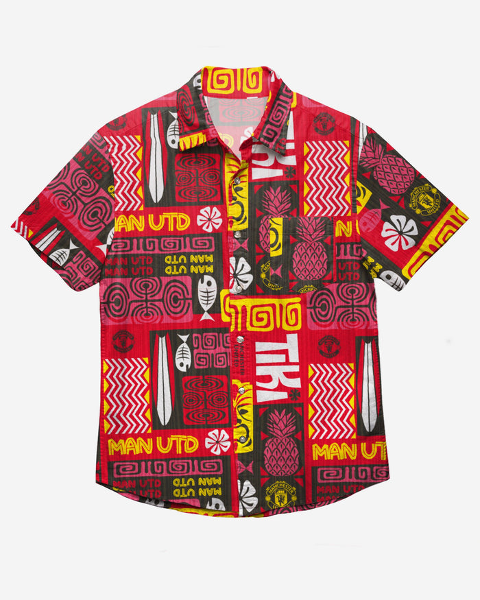 Manchester United FC Tiki Button Up Shirt FOCO - FOCO.com | UK & IRE
