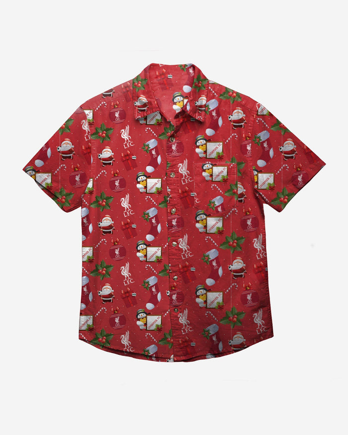 Liverpool Tropical Christmas Button Up Shirt FOCO - FOCO.com | UK & IRE
