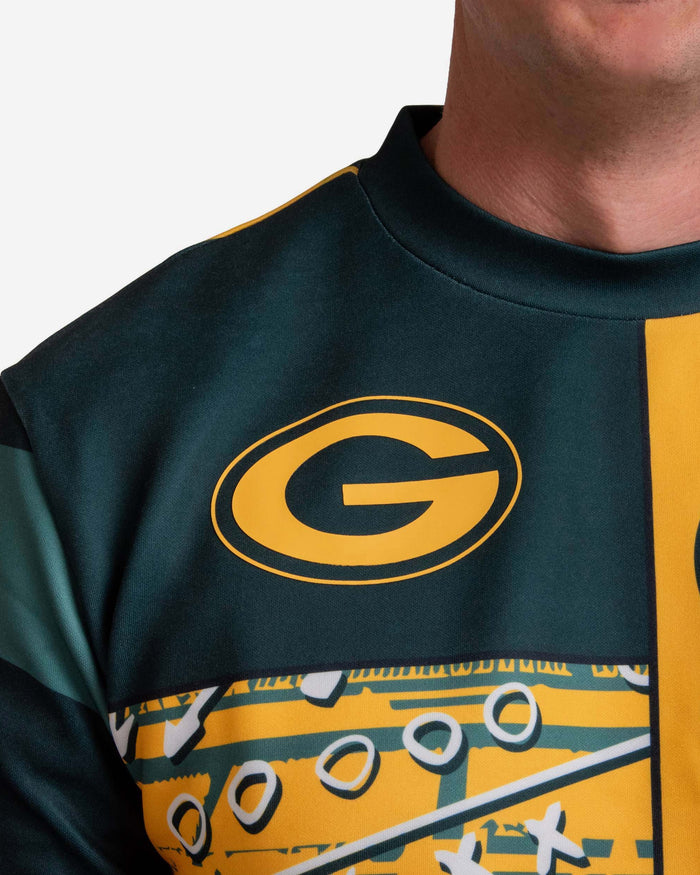Green Bay Packers Team Art Shirt FOCO - FOCO.com | UK & IRE