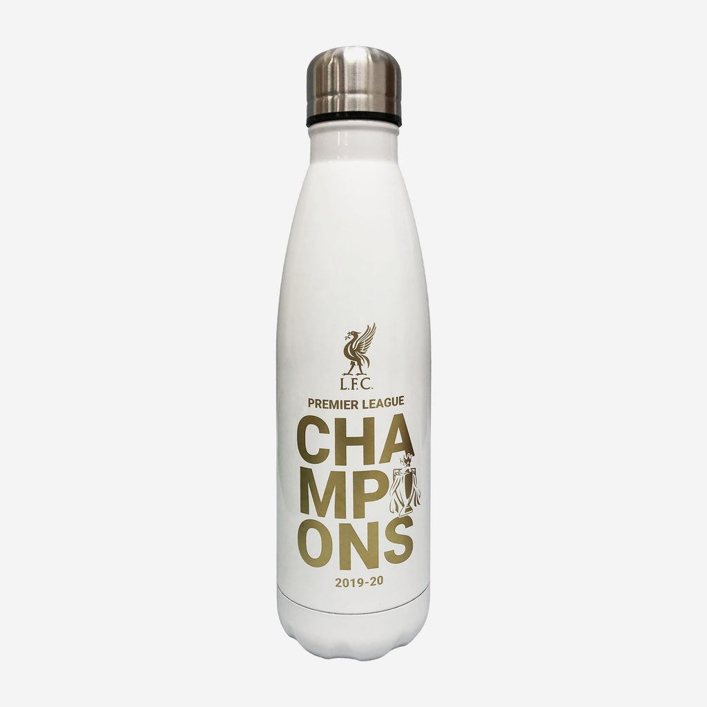 Liverpool FC 2019-20 Champions Gold & White Cool Water Bottle FOCO - FOCO.com | UK & IRE