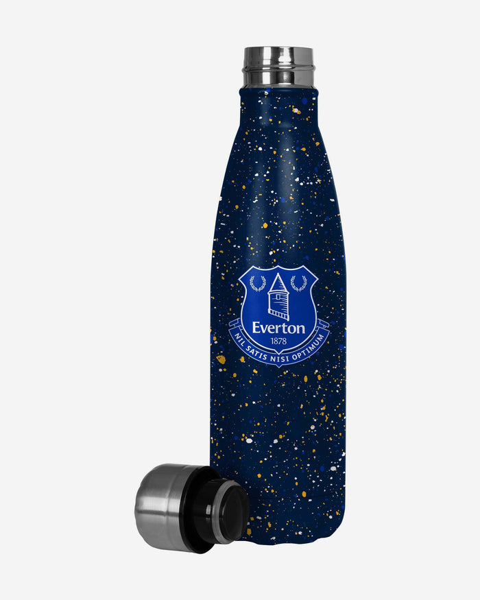 Everton FC Paint Splatter Cool Water Bottle FOCO - FOCO.com | UK & IRE