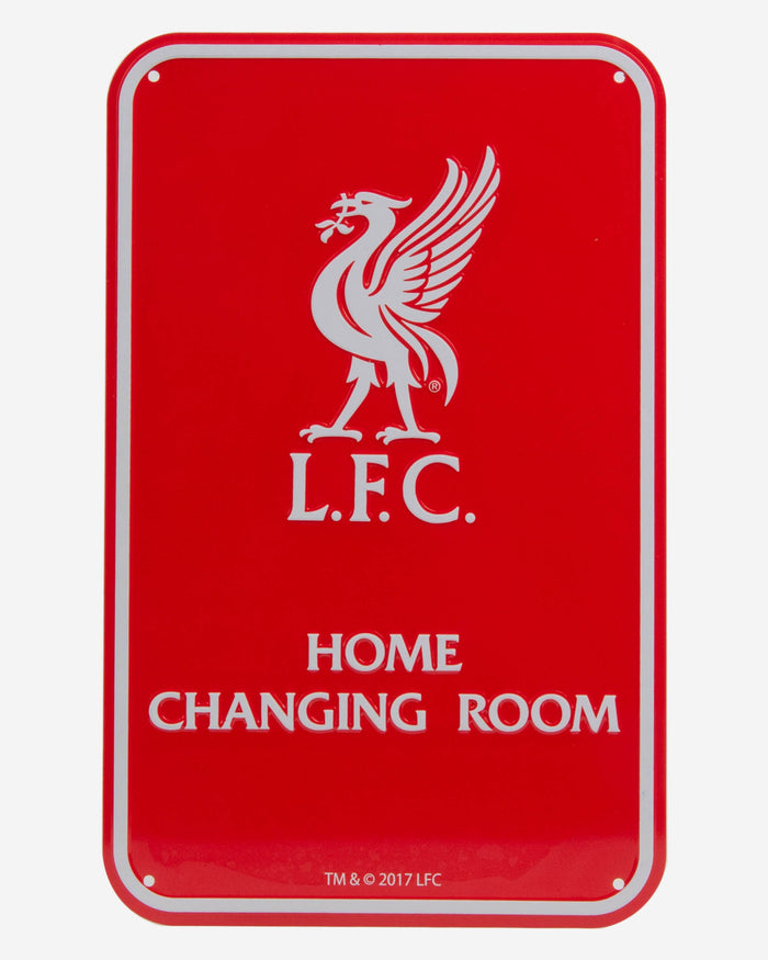 Liverpool FC Home Changing Room Sign FOCO - FOCO.com | UK & IRE