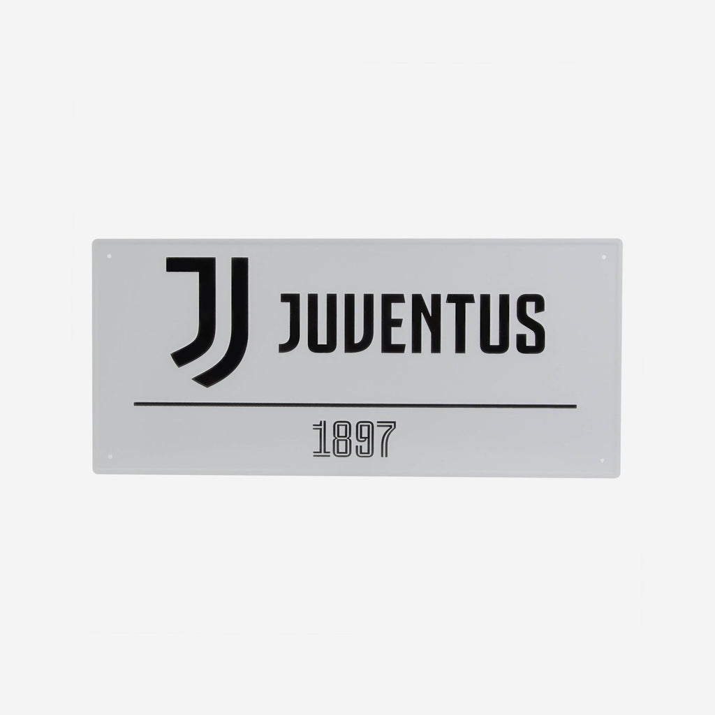 Juventus FC White Street Sign FOCO - FOCO.com | UK & IRE