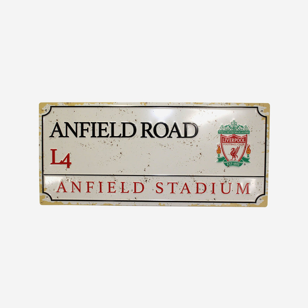 Liverpool FC Retro Street Sign FOCO - FOCO.com | UK & IRE