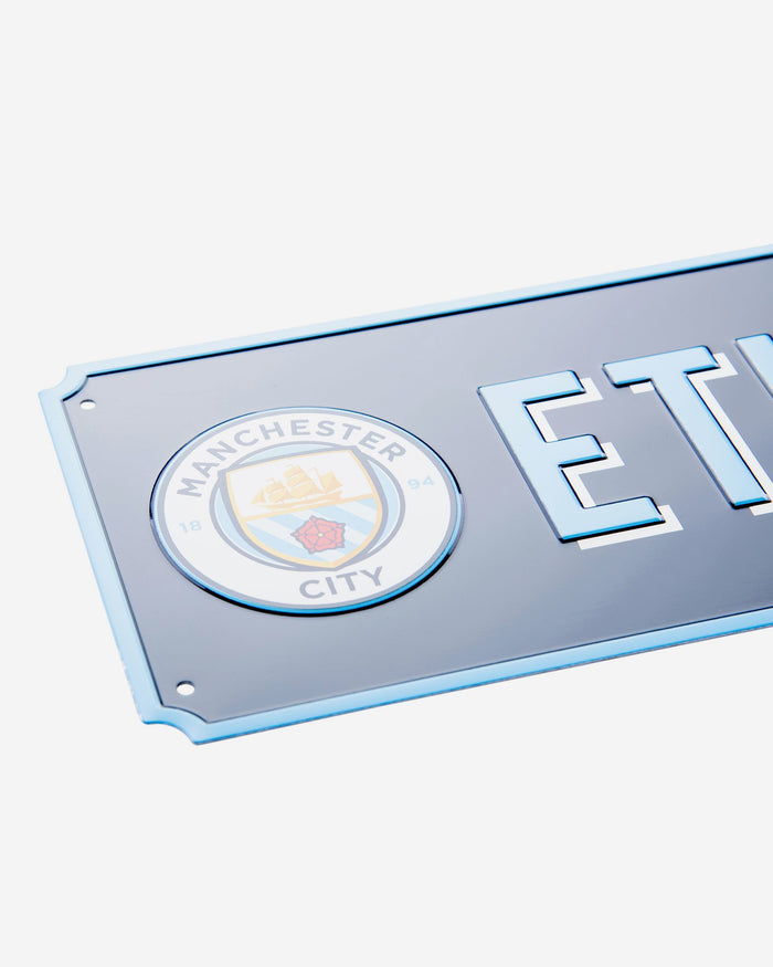 Manchester City FC Vintage Street Sign FOCO - FOCO.com | UK & IRE