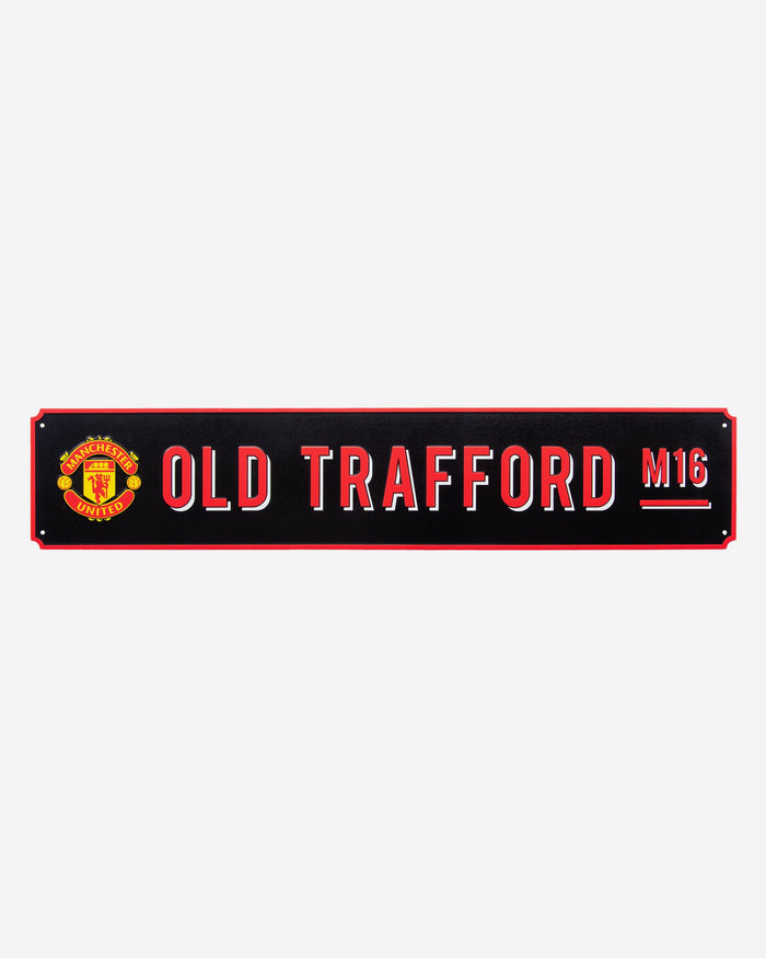 Manchester United FC Vintage Street Sign FOCO - FOCO.com | UK & IRE