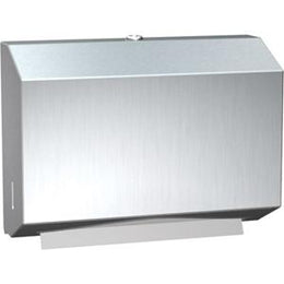 Paper Towel Dispenser Petite Stainless Steel C Fold Or Muli Fold