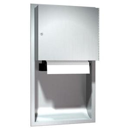 Recessed Automatic Roll Paper Towel Dispenser Stainless Steel