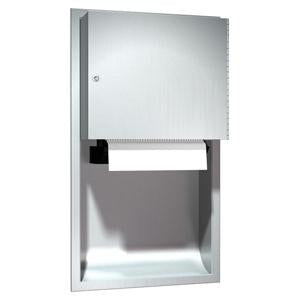 Recessed Automatic Roll Paper Towel Dispenser Stainless