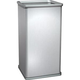 Free Standing Open Waste Receptacle