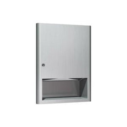 Paper Towel Dispenser -Recessed Mount - Stainless Finish