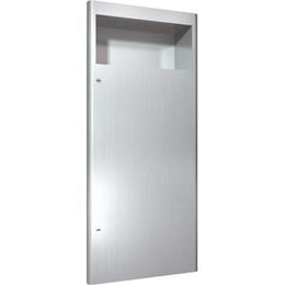Recessed Commercial Waste Receptacle Stainless Steel 12 Gallon