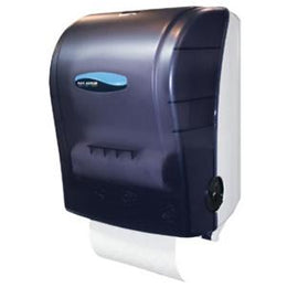 San Jamar Simplicity Hands Free Paper Towel Dispenser, 8 x 8 in Roll
