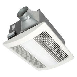 Panasonic Whisper Warm Exhaust Fan FV-11VHL2 - Heat - CFL Light - Night-light Combination - 110 CFM