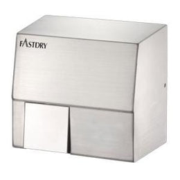 Fastdry HK1800SA Stainless Steel Hand Dryer - Plug in or Hard Wired