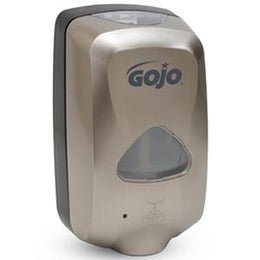 GOJO TFX Touch Free Soap Dispenser - Nickel Finish