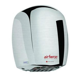 World Dryer Airforce J-973 Automatic Hand Dryers Stainless Steel Brushed