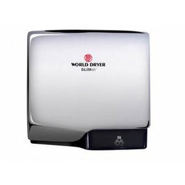 Slimdri World Dryer  L-970 High Speed ADA - Automatic Hand Dryer Aluminum Polished Chrome Finish
