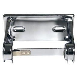 Standard One Roll Tissue Dispenser  - Bright Chrome - RD0381-12