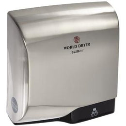 Slimdri L-971 High Speed ADA Compliant Automatic Hand Dryer - Brushed Chrome Finish