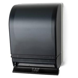 Auto-Transfer Push Bar Roll Towel Dispenser  - Dark Translucent - TD0215-01