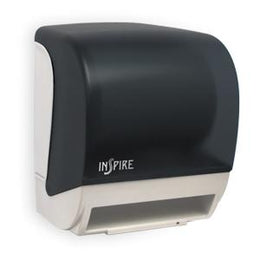INSPIRE Electronic Hands Free Roll Towel Dispenser  - Dark Translucent - TD0235-01