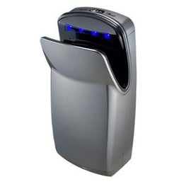 Plug In World Dryer V-629A VMAX High Speed Automatic Hygienic Hand Dryer ADA Compliant - HEPA Filter