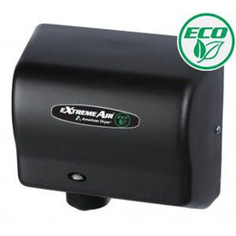 American Dryer Extreme Air EXT7-BG Hand Dryer Black - No Heat High Speed - Low Noise - Hygienic