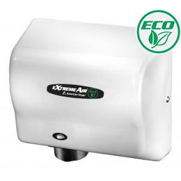 American Dryer Extreme Air  EXT7-M Hand Dryer Steel White No Heat High Speed - Low Noise - Hygienic
