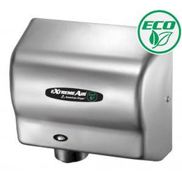 American Dryer Extreme Air EXT7-SS Hand Dryer Stainless - No Heat High Speed  - Low Noise - Hygienic