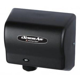 American Dryer Extreme Air GXT9-BG Hand Dryer Black - Warm Air High Speed - Low Noise - Hygienic