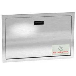 Recessed Stainless Steel Baby Changing Station