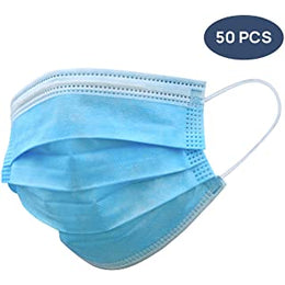 Face Mask Blue Disposable 3 Ply