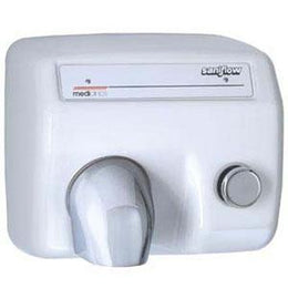Saniflow Heavy Duty Cast Iron Push Button Hand Dryer