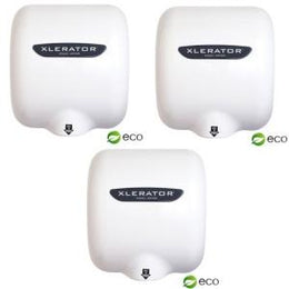 Xlerator XL-BW Eco Hand Dryers - White - 3 Dryers