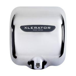 Excel Xlerator Hand Dryer XL-C Chrome - Electric High Speed - Automatic - Green Spec
