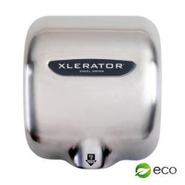 Excel Xlerator Hand Dryer XL-SB-ECO  500 Watts - No Heat - Stainless - FAST - Automatic Sensor