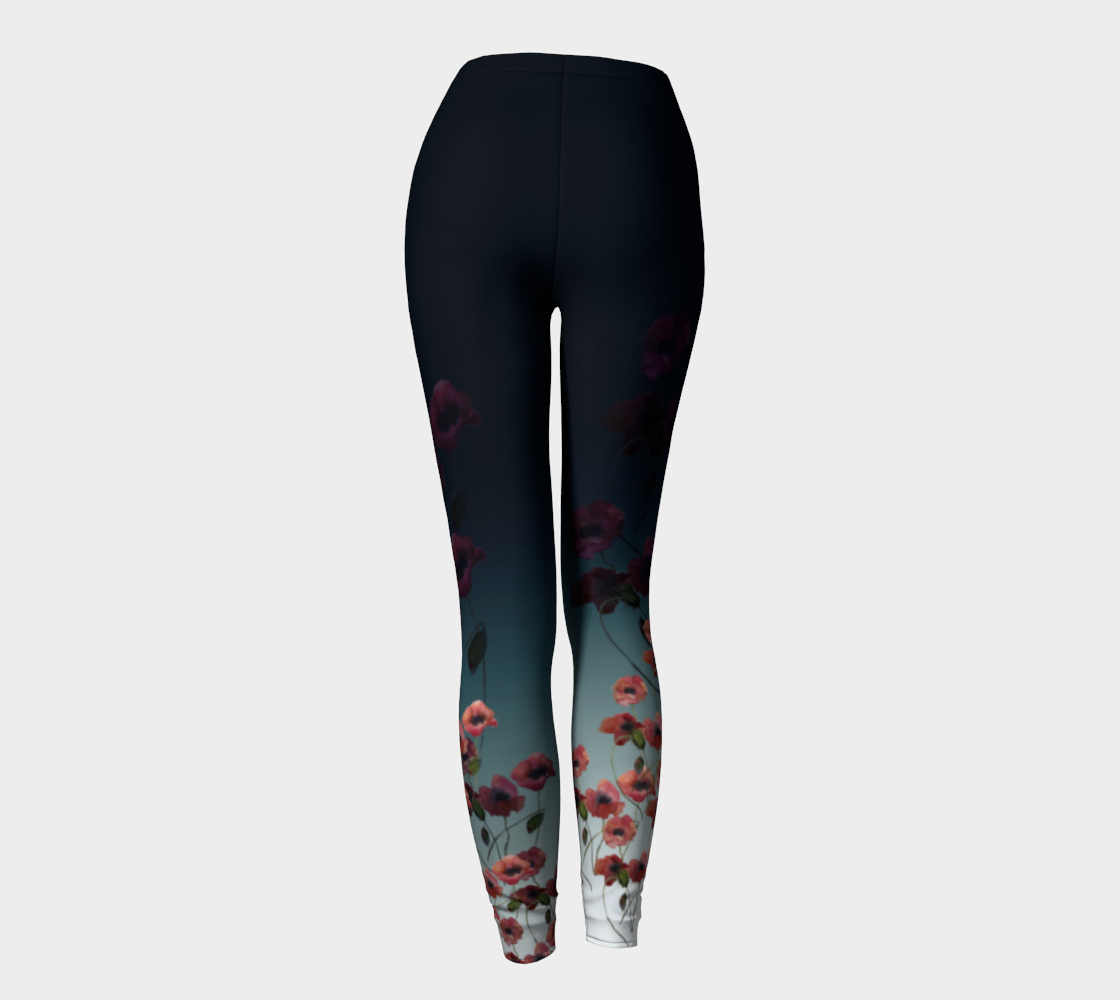 Poppies Fashion Leggings
