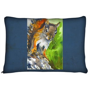 Red Squirrel Dog Bed