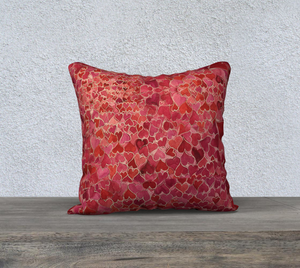 Tap into Love Heart Pillow