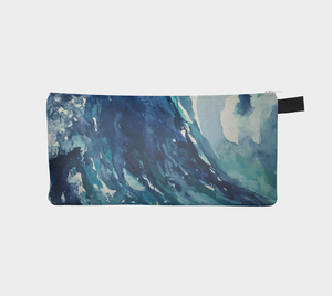 Ocean Wave Pencil Case