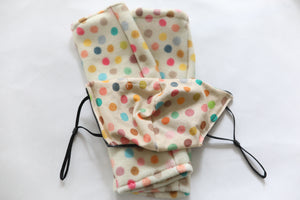 Fleece Handwarmer and Matching Reversible Soft Mask Sets