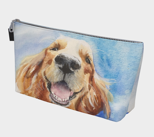 Hobbes Golden Retriever Cosmetics Bag/Clutch