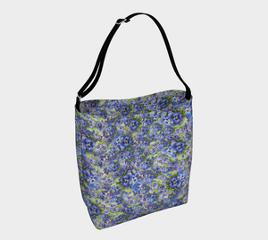 Spring Flowers Soft Stretchy Neoprene Tote