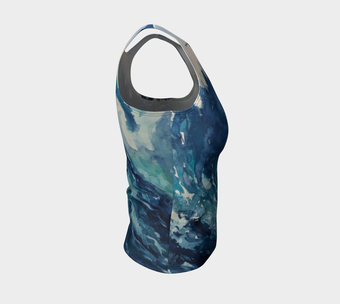 Ocean Wave Fitted Tank (Regular)