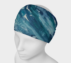 The Wave 4 in 1 Headband/Hairband/Funnel Scarf/Scrunchy